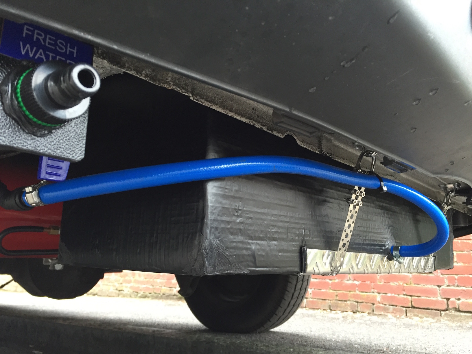 Vw Crafter Conversion Water Tanks And Plumbing Vw T4